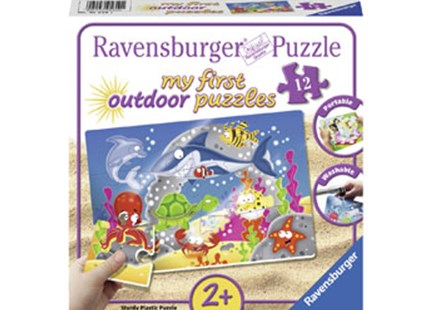 Ravensburger - Underwater Fun Puzzle 12pc Plastic by  (4005556056101) - Jigsaw - Jigsaws