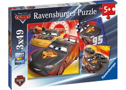 Ravensburger - Adventure On The Road Puzzle 3x49pc by  (4005556080014) - Jigsaw - Jigsaws