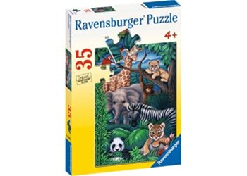 Ravensburger - Animal Kingdom Puzzle 35pc