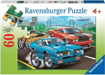 Ravensburger - Muscle Cars Puzzle 60pc