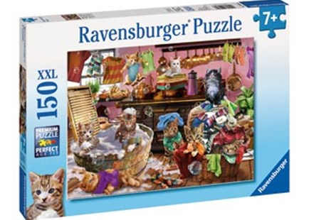 Ravensburger - Cat In The Kitchen Puzzle 150pc by  (4005556100316) - Jigsaw - Jigsaws
