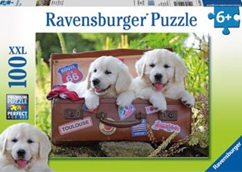 Ravensburger - Travelling Puppies Puzzle 100pc