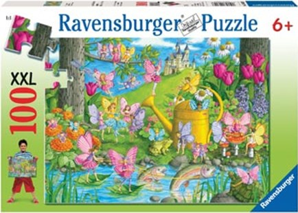 Ravensburger - Fairy Playland Puzzle 100pc by  (4005556106028) - Jigsaw - Jigsaws