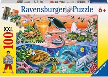 Ravensburger - Beautiful Ocean Puzzle 100pc