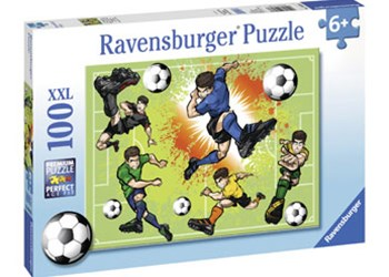 Ravensburger - Soccer Fever Puzzle 100pc