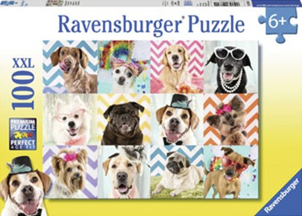 Ravensburger - Doggy Disguise Puzzle 100pc by  (4005556108701) - Jigsaw - Jigsaws