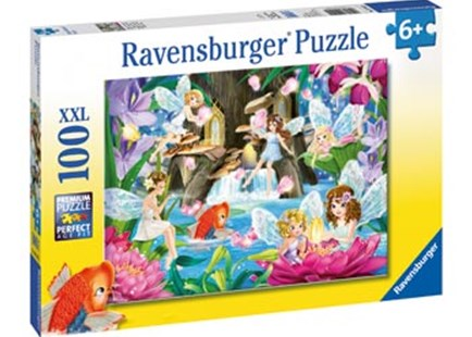 Ravensburger - Magical Fairy Night Puzzle 100pc - Games