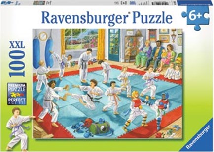Ravensburger - Material Arts Class Puzzle 100pc by  (4005556109685) - Jigsaw - Jigsaws