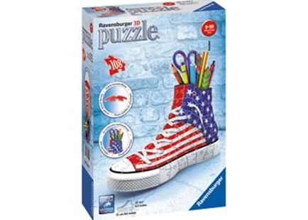 Ravensburger - American Style 3D Sneaker 108pc by  (4005556125494) - Jigsaw - Jigsaws
