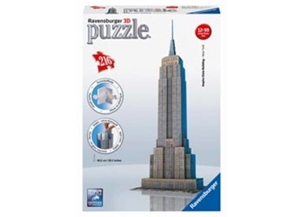Ravensburger - Empire State Building 3D Puzzle 216pc - Jigsaws