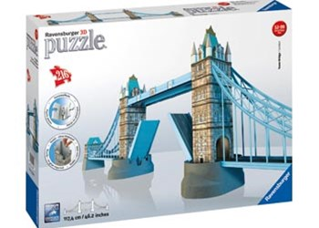 Ravensburger - Tower Bridge 3D Puzzle 216pc