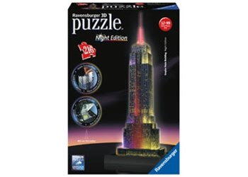 Ravensburger - Empire State at Night 3D Puzzle 216pc