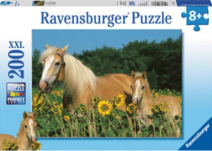 Ravensburger - Horse Happiness 200pc Puzzle by  (4005556126286) - Jigsaw - Jigsaws