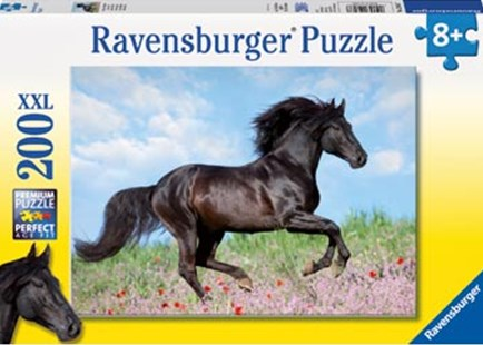 Ravensburger - Majestic Horses Puzzle 200pc by  (4005556128037) - Jigsaw - Jigsaws