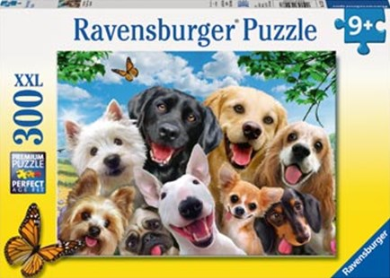 Ravensburger - Delighted Dogs Puzzle 300pc by  (4005556132287) - Jigsaw - Jigsaws