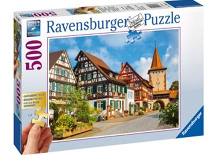Ravensburger - Gengenbach Germany Puzzle 500pc by  (4005556136865) - Jigsaw - Jigsaws