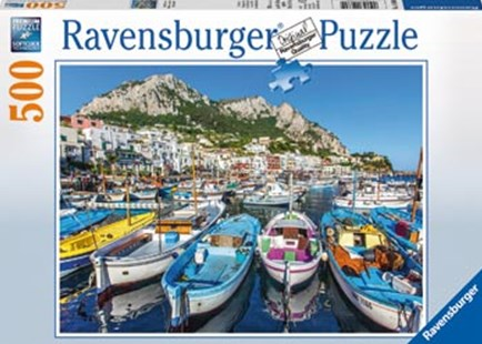 Ravensburger - Colourful Marina Puzzle 500pc by  (4005556146604) - Jigsaw - Jigsaws