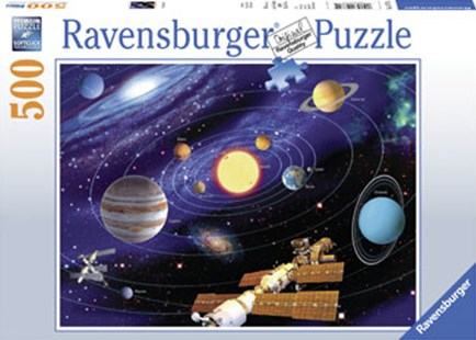 Ravensburger - Solar System Puzzle 500pc by  (4005556147755) - Jigsaw - Jigsaws
