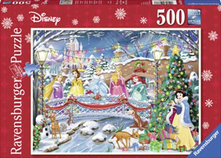 Ravensburger - Disney Princess Christmas Puzzle 500pc by  (4005556147786) - Jigsaw - Jigsaws