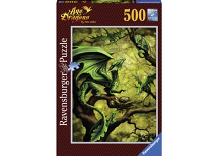 Ravensburger - Forest Dragon Puzzle 500pc by  (4005556147892) - Jigsaw - Jigsaws
