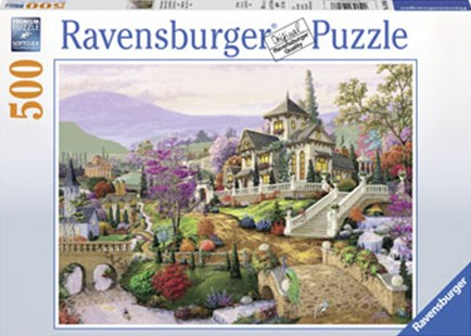 Ravensburger - Hillside Retreat Puzzle 500pc by  (4005556148066) - Jigsaw - Jigsaws