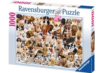 Ravensburger - Dogs Galore! Puzzle 1000pc by  (4005556156337) - Jigsaw - Jigsaws