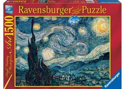 Ravensburger - Van Gogh Starry Night Puzzle 1500pc by  (4005556162079) - Jigsaw - Jigsaws