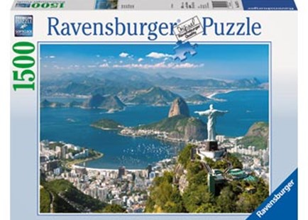 Ravensburger - Stunning Rio Puzzle 1500pc by  (4005556163175) - Jigsaw - Jigsaws