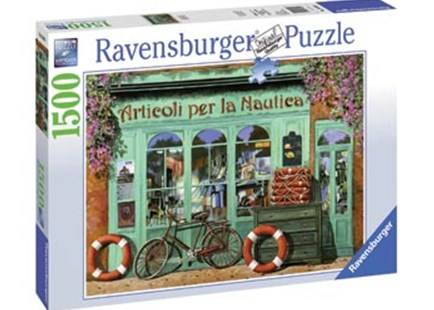Ravensburger - The Red Bicycle Puzzle 1500pc by  (4005556163496) - Jigsaw - Jigsaws