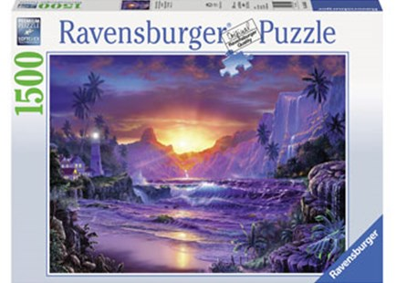 Ravensburger - Sunrise in Paradise Puzzle 1500pc by  (4005556163595) - Jigsaw - Jigsaws