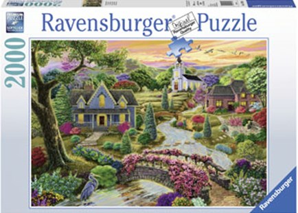 Ravensburger - Enchanted Valley Puzzle 2000pc by  (4005556167036) - Jigsaw - Jigsaws