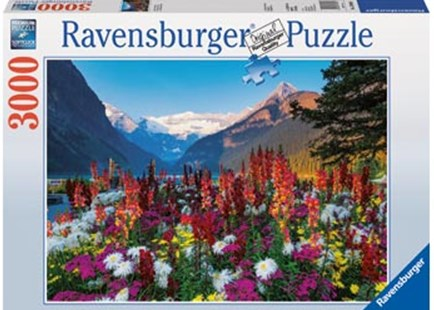 Ravensburger - Mountains of Flowers Puzzle 3000pc by  (4005556170616) - Jigsaw - Jigsaws
