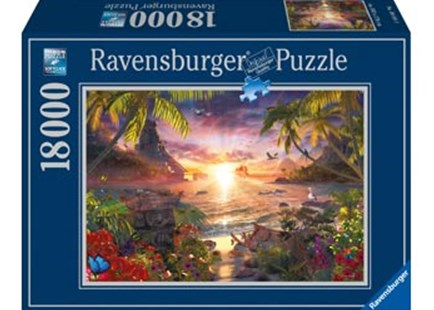 Ravensburger - Heavenly Sunset Puzzle 18000pc by  (4005556178247) - Jigsaw - Jigsaws