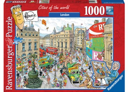 Ravensburger - London 1000pc Puzzle by  (4005556192137) - Jigsaw - Jigsaws
