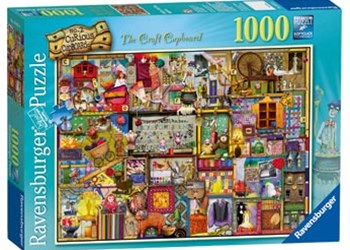Ravensburger - The Craft Cupboard Puzzle 1000pc