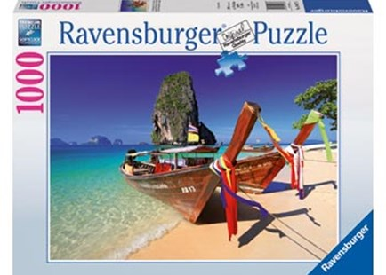 Ravensburger - At the Beach Puzzle 1000pc by  (4005556194773) - Jigsaw - Jigsaws