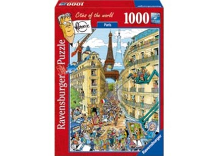 Ravensburger - Paris by Fleroux Puzzle 1000pc by  (4005556195039) - Jigsaw - Jigsaws