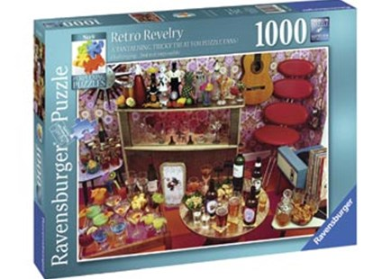 Ravensburger - Retro Revelry Puzzle 1000pc by  (4005556196975) - Jigsaw - Jigsaws