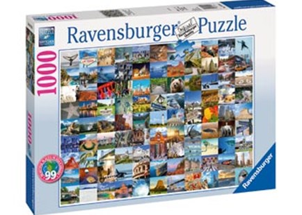 Ravensburger - 99 Beautiful Places 2 Puzzle 1000pc by  (4005556197095) - Jigsaw - Jigsaws