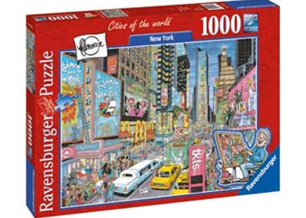 Ravensburger - New York Puzzle 1000pc by  (4005556197323) - Jigsaw - Jigsaws