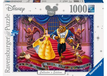 Ravensburger - Disney Moments Beauty and the Beast 1991 by  (4005556197460) - Jigsaw - Jigsaws