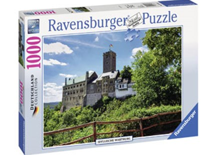 Ravensburger - Idyllic Wartburg Puzzle 1000pc by  (4005556197835) - Jigsaw - Jigsaws