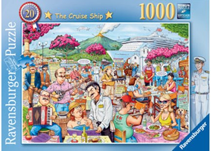 Ravensburger - Best British No20, Cruise Ship Puzzle 1000pc by  (4005556198207) - Jigsaw - Jigsaws