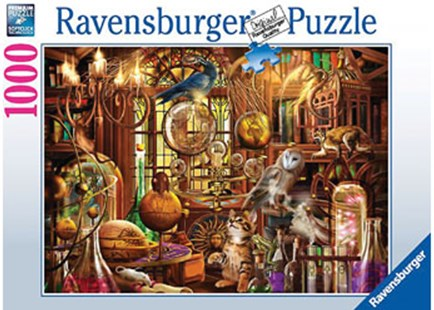 Ravensburger - Merlin's Laboratory Puzzle 1000pc - Jigsaws
