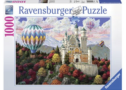Ravensburger - Neuschwanstein Dreams Puzzle 1000pc by  (4005556198573) - Jigsaw - Jigsaws