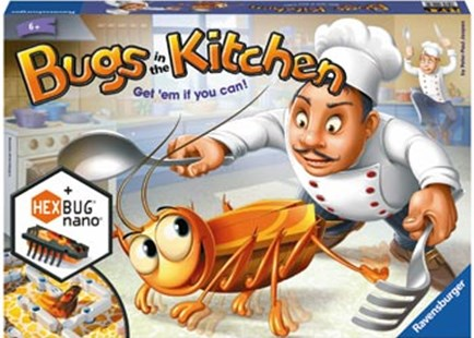 Ravensburger - Bugs in the Kitchen by  (4005556222612) - Game - Board Games Party & Family