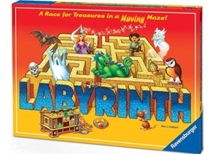 Ravensburger - The Amazing Labyrinth Board Game - Board Games Party & Family