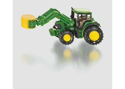 Siku - John Deere Tractor with Bale Gripper - Children's Toys & Games Vehicles