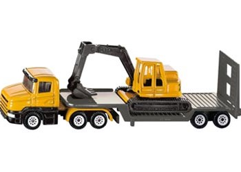 Siku - Low Loader with Excavator