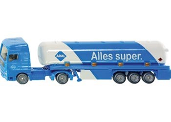 Siku - Tanker with Trailer - 1:87 Scale